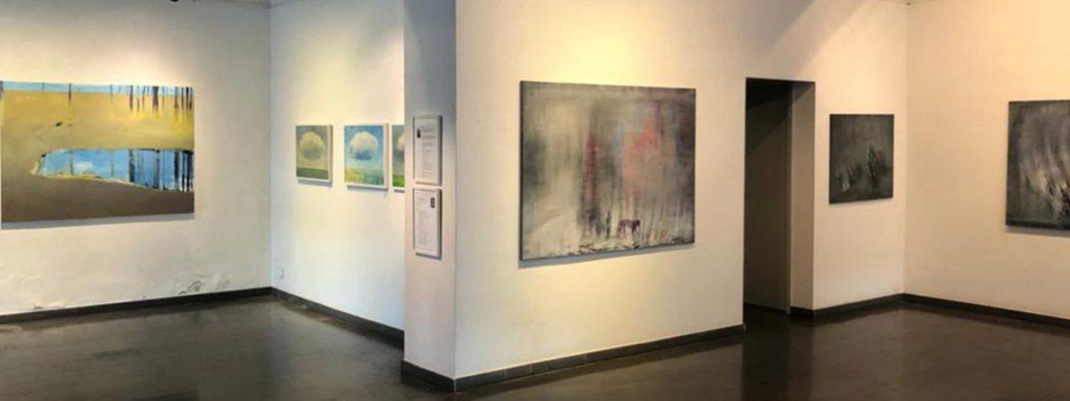 Drei Künstler in HAGENRING-Galerie